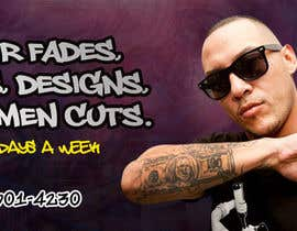 #4 for Barber Banner Design by madartboard