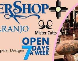 #49 for Barber Banner Design by AKHDesigner