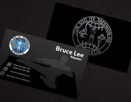 nº 164 pour Design a Business Card For a Martial Art Dojang par redonemuaz