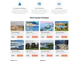 nº 20 pour Redesign of a travel agency website par zaighum110