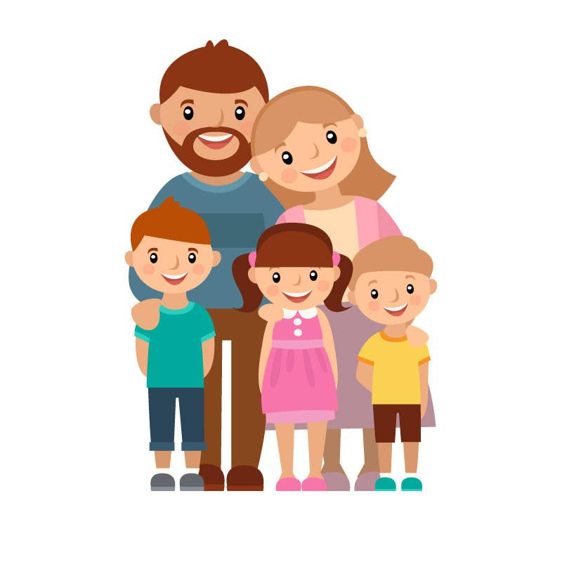 Proposition n°31 du concours Turn this family into a CARTOON!