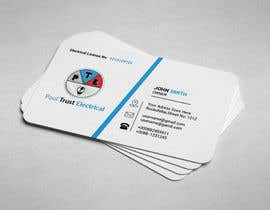 nº 24 pour Design some Business Cards For an Electrical Business par ImtiazShishir
