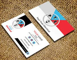 nº 28 pour Design some Business Cards For an Electrical Business par rtaraq