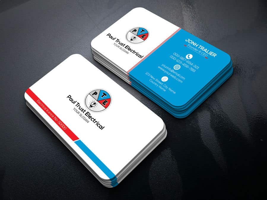 Entry #74 by khansatej1 for Design some Business Cards For an ...