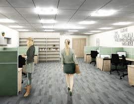 nº 24 pour workspace design par roxanahosu
