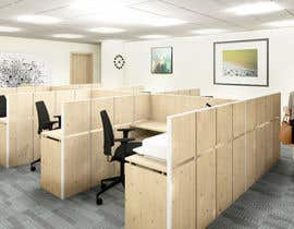 nº 28 pour workspace design par roxanahosu