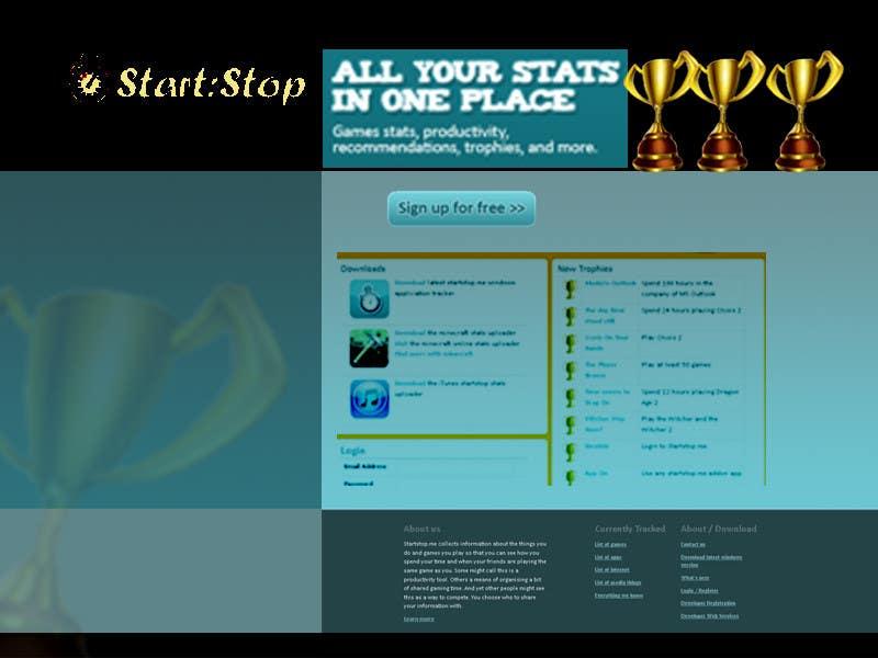 Bài tham dự cuộc thi #                                        33                                      cho                                         Website Design for startstop.me