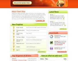 #34 cho Website Design for startstop.me bởi imaginativeGFX
