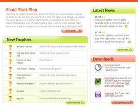 #32 cho Website Design for startstop.me bởi imaginativeGFX