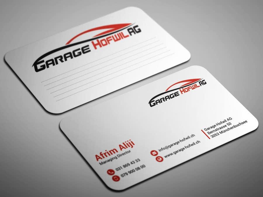 Entry 28 By Smartghart For Design Von Visitenkarten Für Car