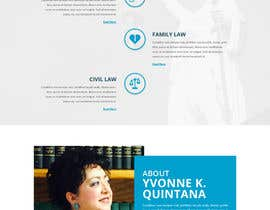 nº 12 pour Design a Website Mock up for attorney par saidesigner87
