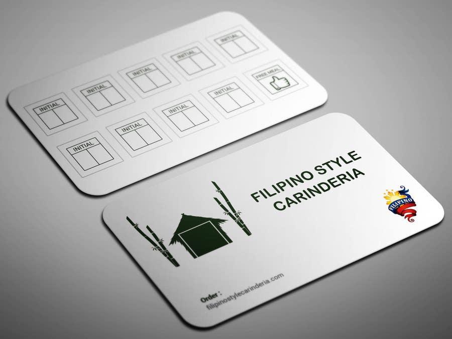 Kilpailutyö #                                        2                                      kilpailussa                                         Design some Business Stamp Cards