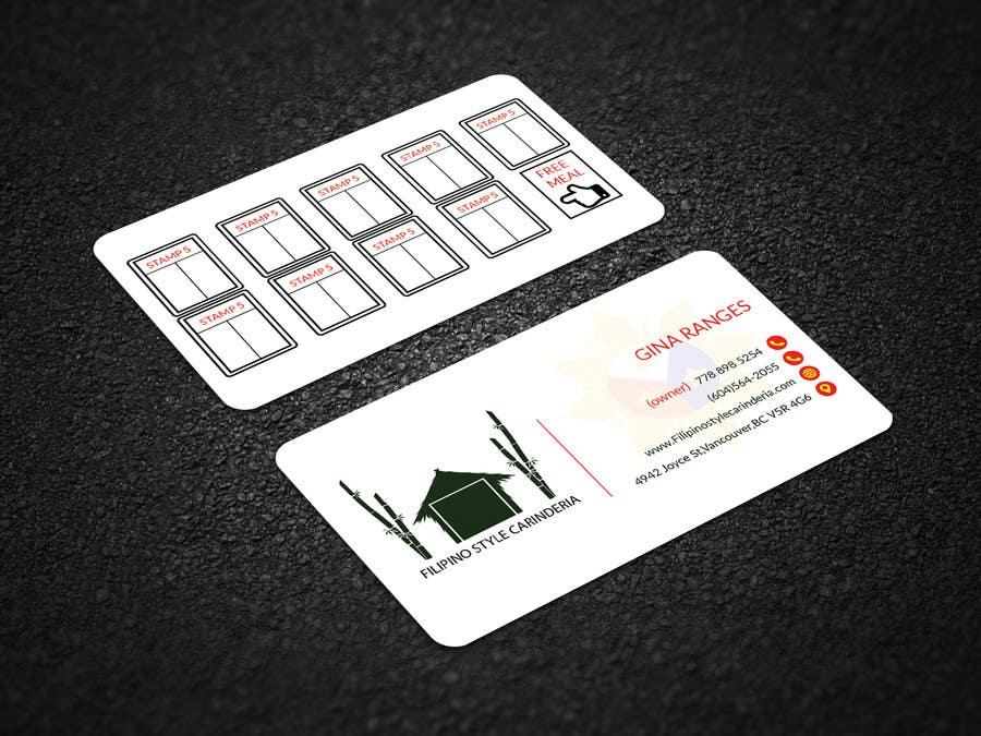 Kilpailutyö #                                        11                                      kilpailussa                                         Design some Business Stamp Cards
