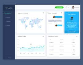 #28 , Re-design UI/UX for a Marketplace Dashboard 来自 akarofylakis