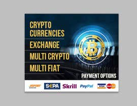 #22 for Banner Design for Cryptocurrencie Exchange by chandrabhushan88