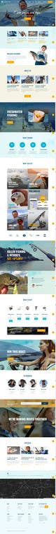 Contest Entry #15 thumbnail for Design a Website Template with a Fishing Theme