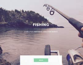 nº 6 pour Design a Website Template with a Fishing Theme par Exonical