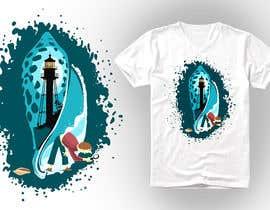 nº 24 pour Seashell t-shirt design par kunjanpradeep