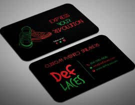 #34 for Def Laces Business Card-Redesign by smartghart