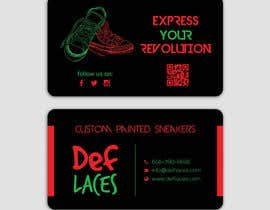 nº 41 pour Def Laces Business Card-Redesign par smartghart