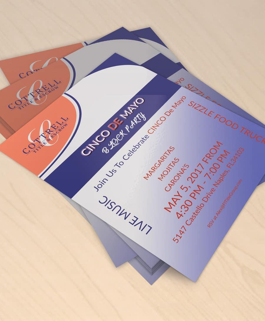 Kilpailutyö #15 kilpailussa Design a Flyer