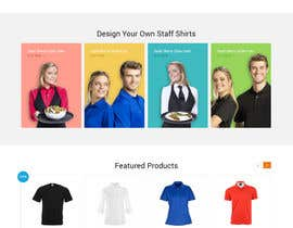 nº 16 pour Apparel site design par syrwebdevelopmen