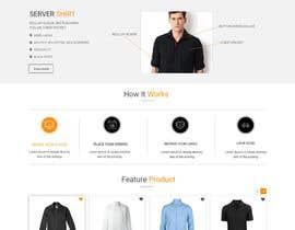 nº 21 pour Apparel site design par Webicules