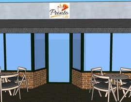 Nro 25 kilpailuun CREATIVE  DESIGN  FOR  PIZZA  CAFE  APPEARANCE käyttäjältä febinaj