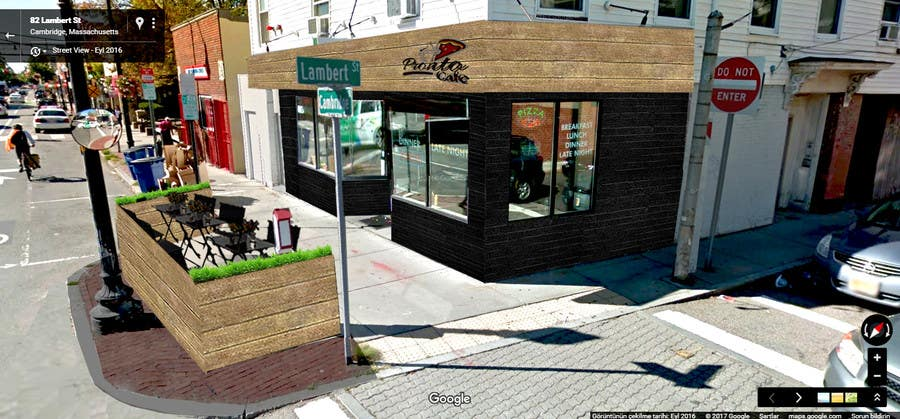 Proposition n°19 du concours CREATIVE  DESIGN  FOR  PIZZA  CAFE  APPEARANCE