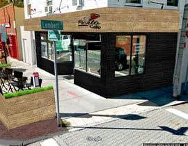 Nro 19 kilpailuun CREATIVE  DESIGN  FOR  PIZZA  CAFE  APPEARANCE käyttäjältä arcnuevo