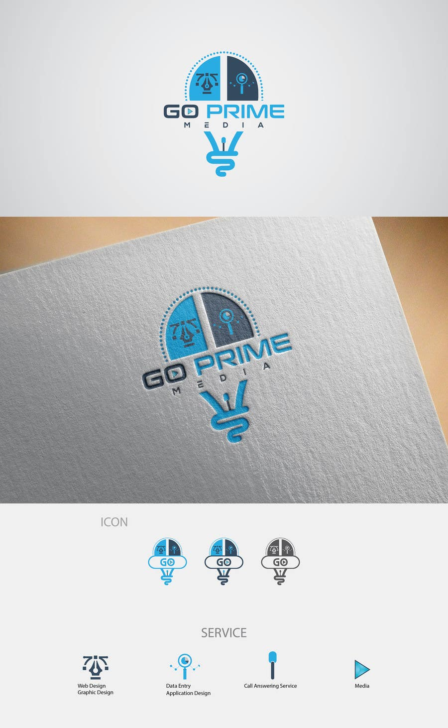 Entry #381 by SandipBala for Design a Logo & business card(for an ...