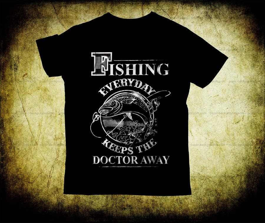 Proposition n°24 du concours Design a fishing related shirt and logo