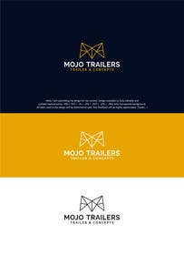 #190 for Logo design for a foodtruck branding company (www.mojotrailers.com) by designpoint52