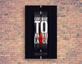 nº 26 pour Ambulance Poster Designing par zardzewiaua