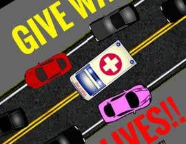 nº 13 pour Ambulance Poster Designing par syahmikushairi94