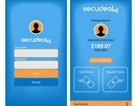 #40 para Design an App Mockup 1 Screen only de kalaja07