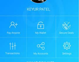#30 para Design an App Mockup 1 Screen only de brandspixel