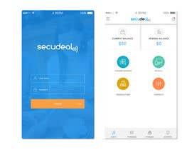 #37 para Design an App Mockup 1 Screen only de sudpixel