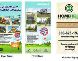 #2 para Graphic Design - Outdoor Signage & Flyer de eriknanda97