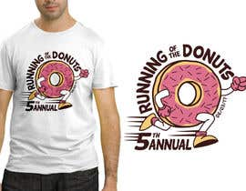 #51 for Design a T-shirt for the 5th Annual Running of the Donuts by makaryo