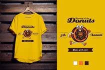 Proposition n° 45 du concours Graphic Design pour Design a T-shirt for the 5th Annual Running of the Donuts