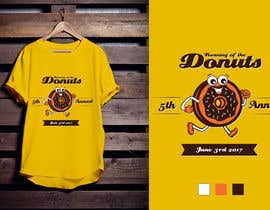 #45 for Design a T-shirt for the 5th Annual Running of the Donuts by Amindesigns