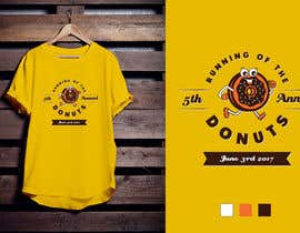 #46 for Design a T-shirt for the 5th Annual Running of the Donuts by Amindesigns