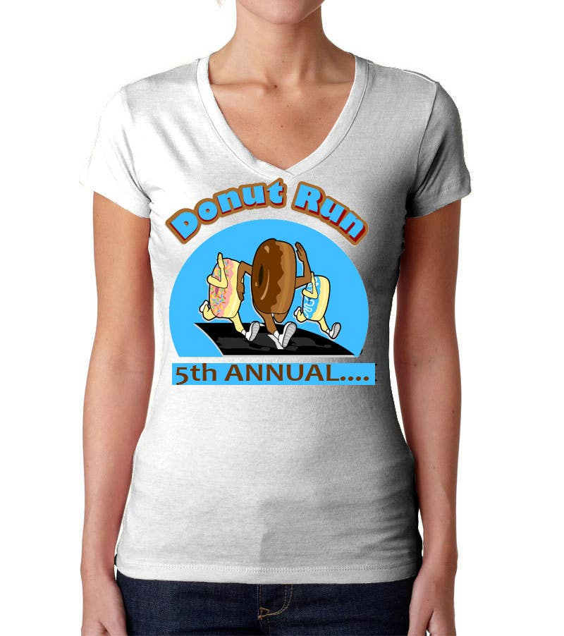 Proposition n°40 du concours Design a T-shirt for the 5th Annual Running of the Donuts