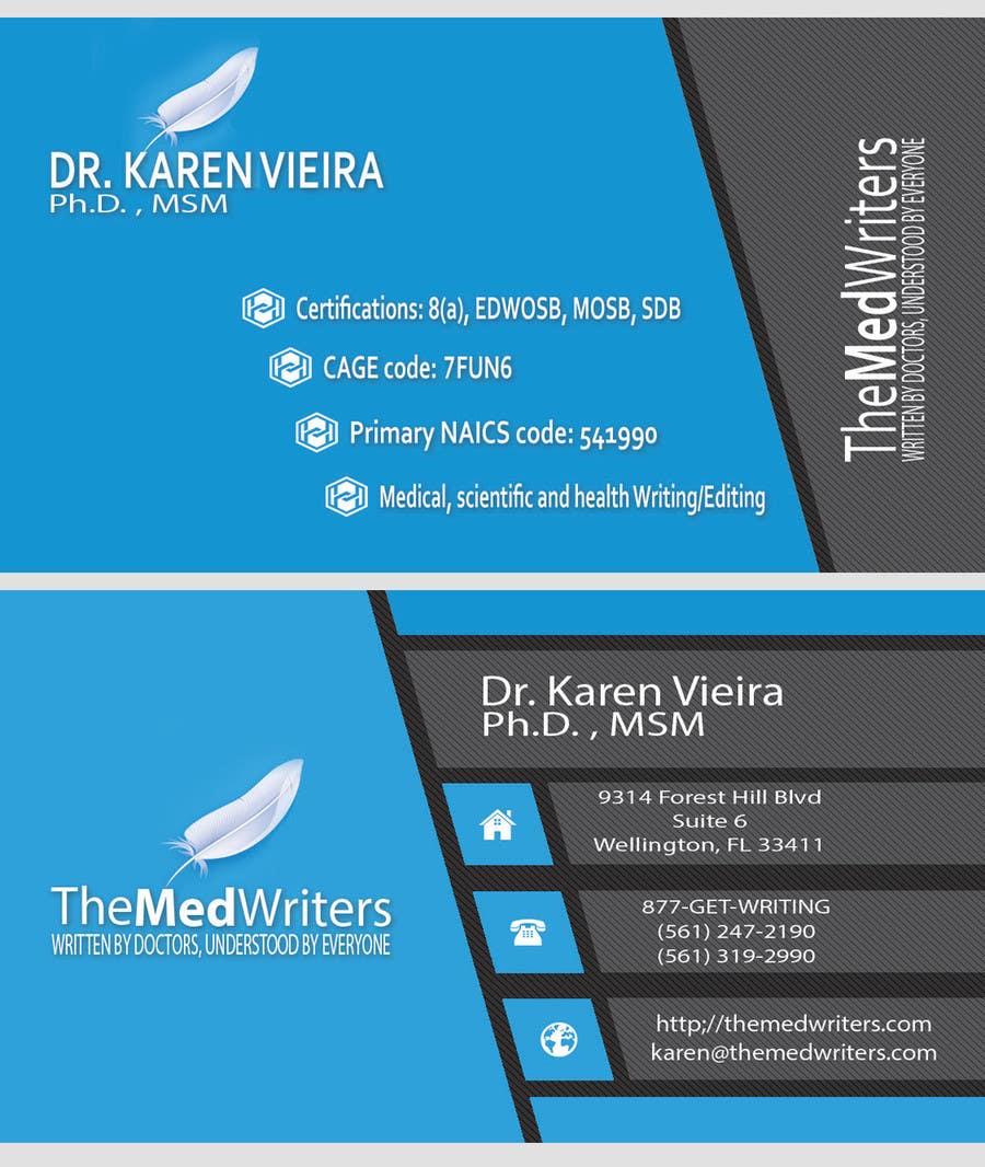 Entry #7 by MohamnedAdeL for Design some Business Cards | Freelancer