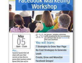 #23 for Design a Flyer for Facebook Marketing Workshop by naveen14198600