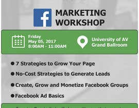 #4 for Design a Flyer for Facebook Marketing Workshop by johntodorovic
