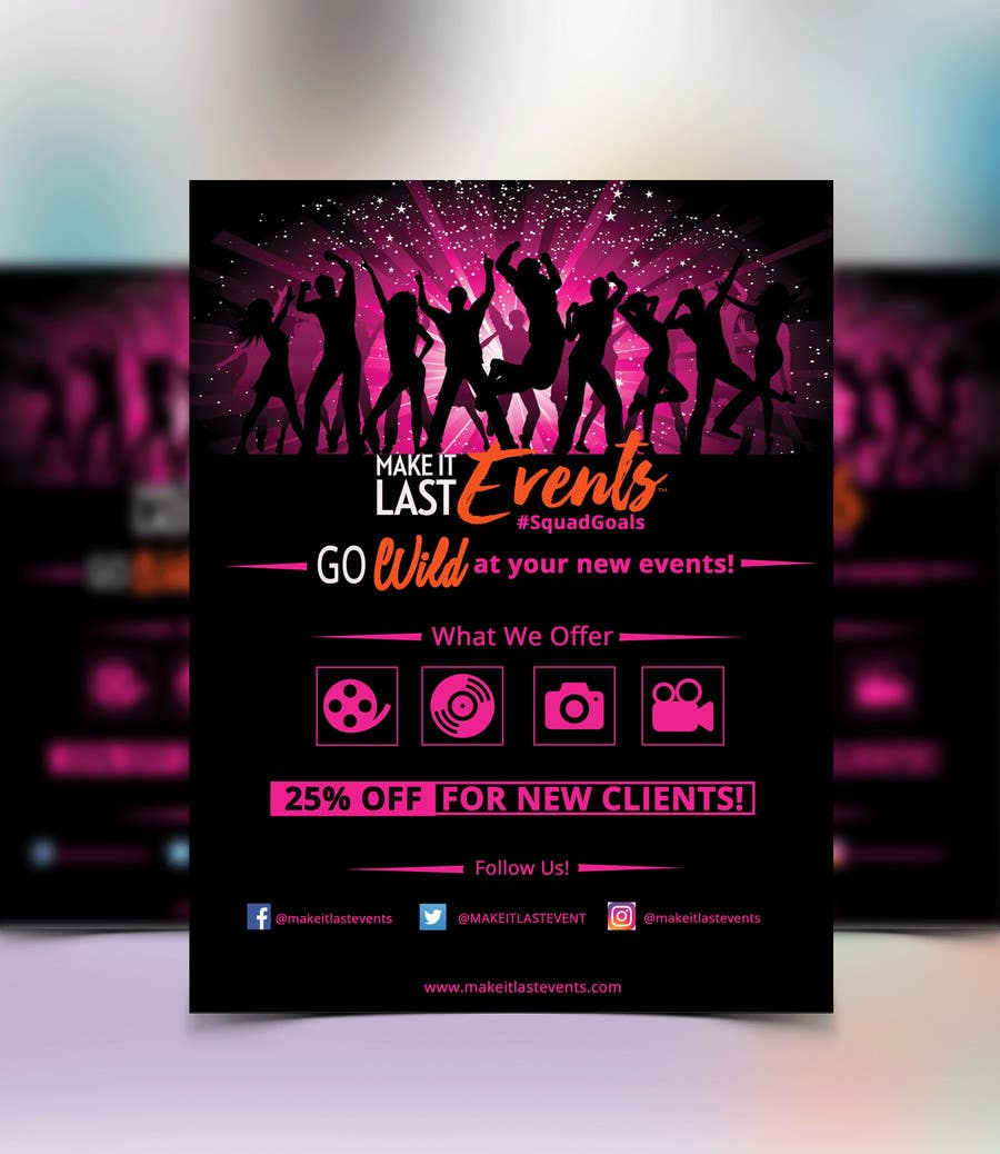 Kilpailutyö #                                        63                                      kilpailussa                                         Design a Flyer