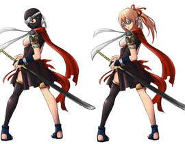 #21 for Design our female ninja mascot by werenwow
