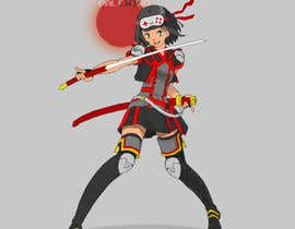 #29 for Design our female ninja mascot by Palewind